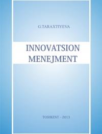 Инновацион менежмент