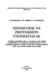 Геометрик ва проексион чизмачилик