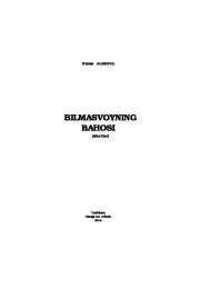 Bilmasvoyning bahosi