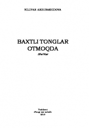 Baxtli tonglar otmoqda