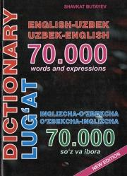 O'zbekcha-inglizcha lug'at (70000 so'z va ibora)