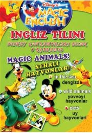 Ingliz tilini o'rganamiz - Magic animals!