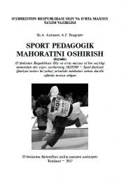 Sport pedagogik mahoratini oshirish (dzyudo)