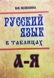 Russkiy yazik v tablitsax. 4-e izdanie