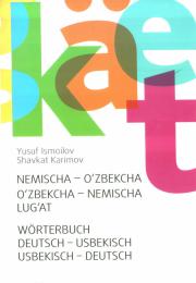 Nemischa - o'zbekcha, o'zbekcha - nemischa lug'at