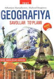 Geografiya. Savollar to'plami