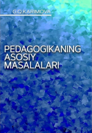 Педагогиканинг асосий масалалари