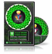Corel Draw Master - векторли графика видео курси