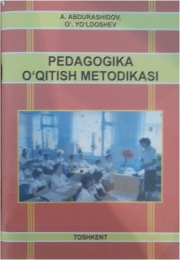 Pedagogika o'qitish metodikasi
